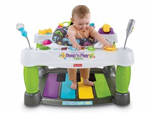 Fisher-Price Little Superstar Step N' Play Piano Activity Center
